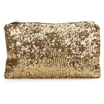 Túi cầm tay kim sa (Vàng)