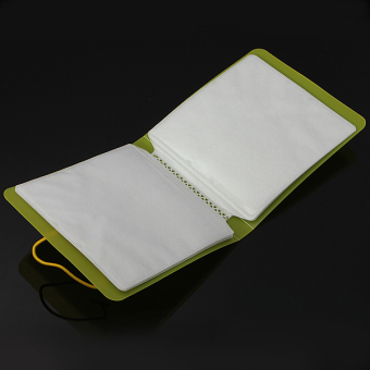 Plastic CD DVD Double Sleeve Holder Clear Envelope Wallet Storage Case Bag Cover - Intl