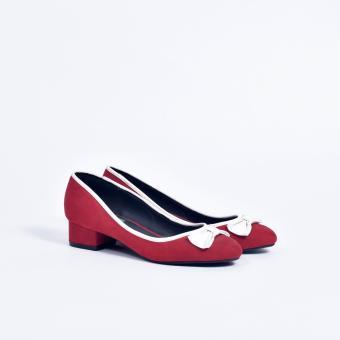 Giày cao gót 0736 (Đỏ)
