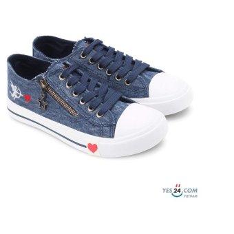 Giày thể thao nữ WNTT0110007A1 (Xanh Đậm)