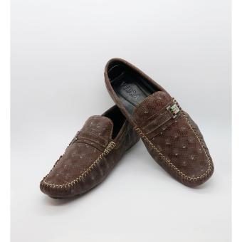 Giày da bò 100% cao cấp Vidra 9352BRO