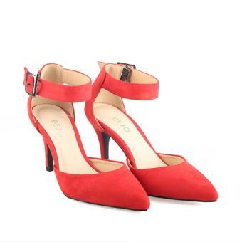 Giày Cao Gót Quai Hậu BEJO BJWH-027 Đỏ