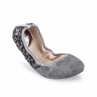Mua Giày búp bê BUTF TAMSIN BT01021 (Nâu xám) giá tốt nhất