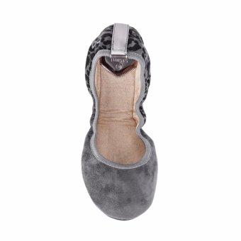 Giày búp bê BUTF TAMSIN BT01021 (Nâu xám)