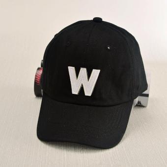 Nón kết chữ W NK444 (Đen)