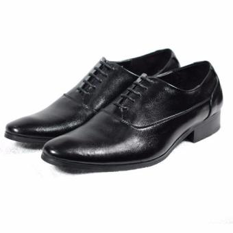 Giày tây cột dây Tathanium Footwear TFBKU0028 (Đen)
