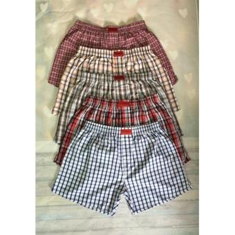 Bộ 5 quần short Caro cho nam cao cấp