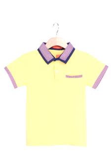 Áo thun ngắn tay bé trai V.T.A.Kids BT41105VN (Vàng nhạt)