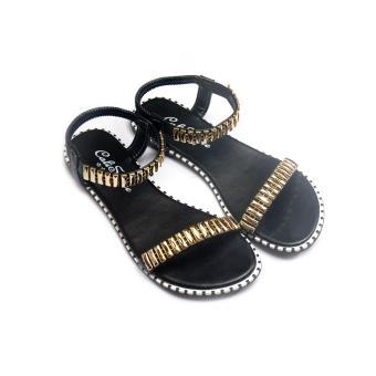 Giày xăng đan Lopez Cute D86 (Đen)