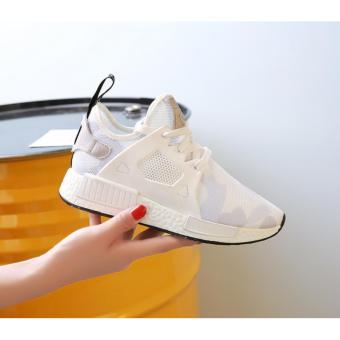 Giày thể thao nữ Lk13 - trắng