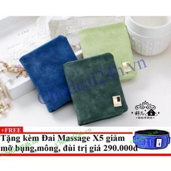 Combo 3 Ví cầm tay cho nữ VN02 + Tặng đai massage x5 giảm mỡ