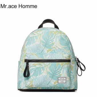 Balo Thời Trang Mr.ace Homme MR17A0494B01 / Trắng phối hoa