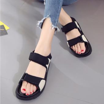 Giày sandal quai dán đế đúc dẻo