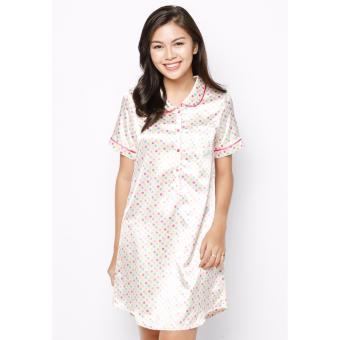 Đầm mặc nhà lụa Cao cấp CLOUD_H010