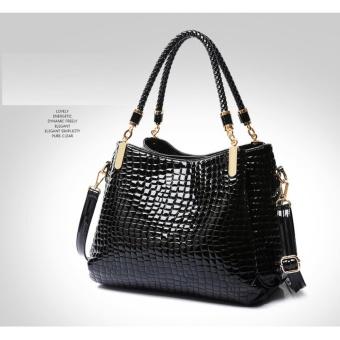 Túi xách nữ nhiều ngăn Làm Đẹp - Hàng cao cấp (đen)