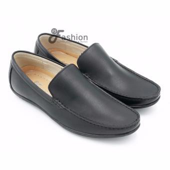 Giày Mọi Nam Da Thật GM228 (Đen)