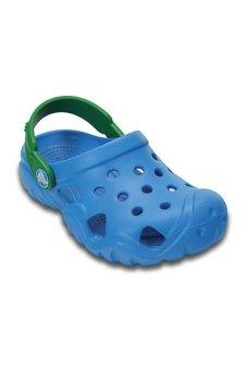 Giày lười bé trai Crocs Swiftwater Clog K Ocn/Kgr 202607-4G5 (Xanh)