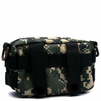 Molle Tactical Storage Bag Cross Body Messenger Tote Bag Shoulder Satchel Army Gear Leisure Flap Handy Pouch ACU Camouflage - Intl - intl