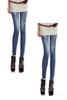 Bộ 2 quần legging Huy Kiệt HK92 (Xanh Đen)