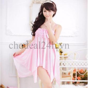 Áo đầm ngủ quyến rũ Angel CDAN03 (hồng)