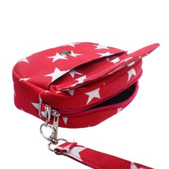 Women Bags Mini Small Messenger Cross Body Handbag Shoulder Bag Purse Red - Intl