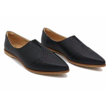 Giày búp bê hàng biệu Pierre Cardin SB069-BLACK