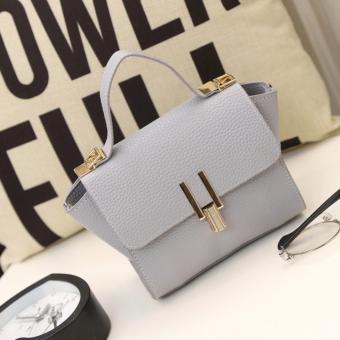 Túi xách da nhỏ, đeo vai New Style Hàn Quốc dễ thương (Xanh ngọc) (15x17x7cm)