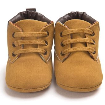 ROMIRUS Baby Toddler Soft Sole Leather Shoes Infant Boy Girl Toddler Shoes - intl