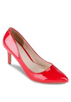 Giày Cao Gót Janvid L038 (Đỏ)