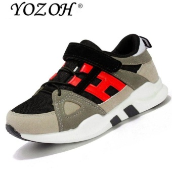 Spring And Summer New Childrens Shoes, Breathable Sportsshoes Childrens Casual Shoes-Red - intl