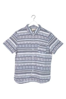 Native Youth Tapestry Jacquard Shirt (Blue)