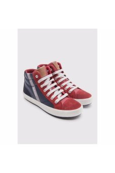 Giày sneakers GEOX J ALONISSO B. B NAVY/RED