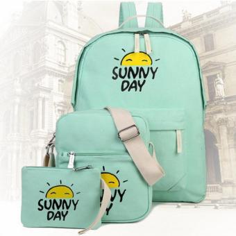 Bộ 3 túi xách Sunny cao cấp (Xanh dương)