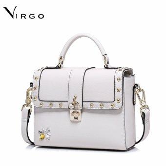Túi đeo chéo nữ thời trang khóa hoa VG234