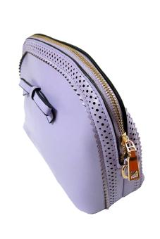 Túi đeo chéo Alamode Paris ALM 3135L 28 x 18 x 10 (Tím nhạt)