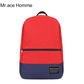 Balo Thời Trang Mr.ace Homme HT01610 / Đỏ phối xanh