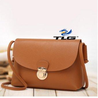 Túi nữ thời trang phong cách Hàn Quốc Đồ Da Thành Long TLG 208111 2 (Nâu)