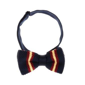 BolehDeals Classic Fashion Novelty Mens Adjustable Tuxedo Wedding Bow Tie Necktie #4 - intl