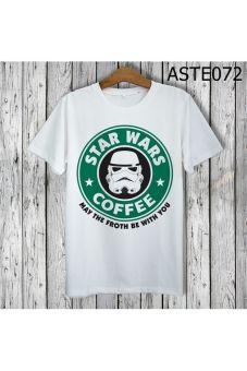 Áo Thun Cao Cấp Hình Star Wars Coffee - MITADI – ASTE072