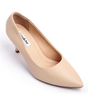 Giày cao gót SJ0002-Kem