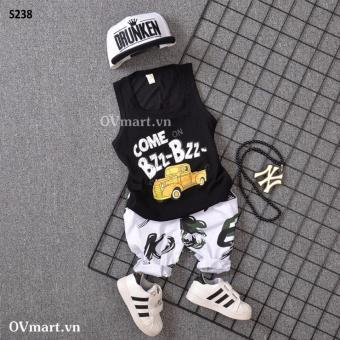 Quần áo bé trai - Set Come On BzzBzz - S238