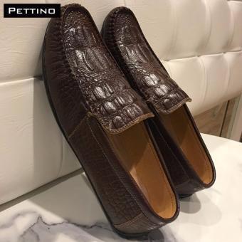 Giày Lười Nam Cao Cấp - Pettino GL-10 (nâu)
