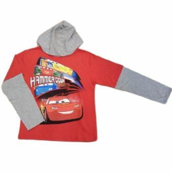 Áo thun tay dài thời trang bé trai Cars