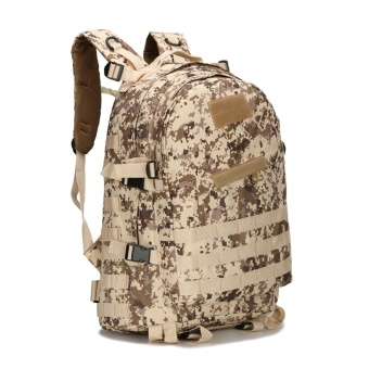 40L 3D Backpack Outdoor Trekking Sport Travel Camping Hiking Camouflage Bag E - intl