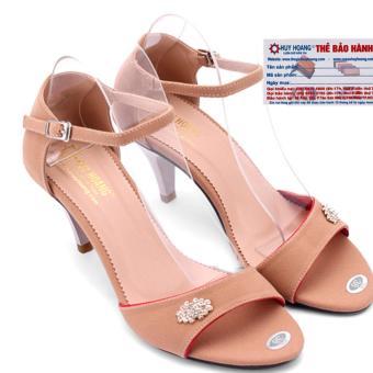 HL7060 - Giày xăng đan cao gót nữ Huy Hoàng màu da