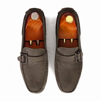 Giày mọi Alessandro Luigi LG92-77 (Xám nhạt)