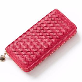 Bóp ví nữ thời trang Weichan Win Win Shop 57134 - Đỏ