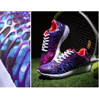 Giày thể thao huỳnh quang HQ màu tím 38 -AL
