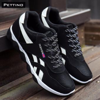 giày thể thao nam - Pettino GT01 (trắng đen)