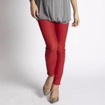 MEV Quần bầu Mothers En Vogue - Sexy Skinny Jeans Underbelly - M - Flame Red
